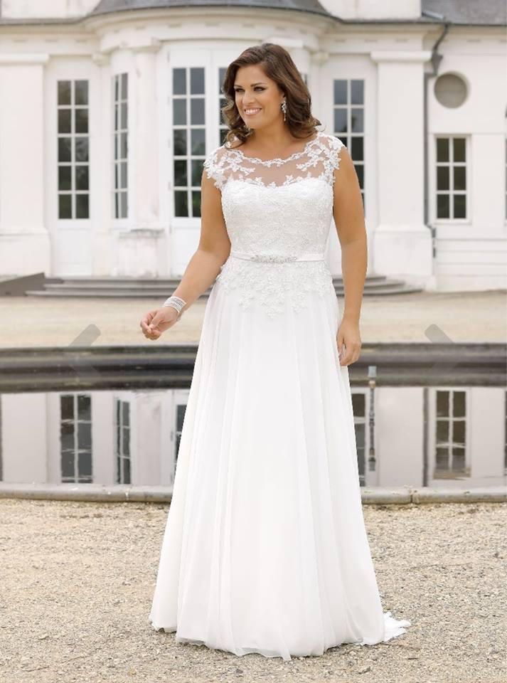 d451da8f Ladybird brudekjole plus size, store størrelser