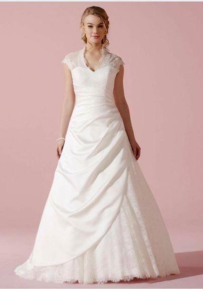 c259d195887 Plus Size Brudekjoler, store størrelser brudekjoler