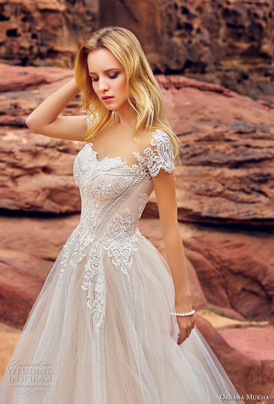 2ce08755 Prinsesse brudekjoler Mariella 2019 bryllupskjole