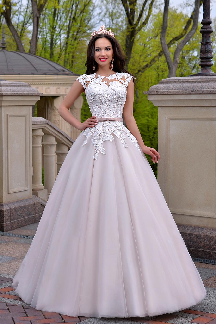 bafecdea28ac Prinsesse A line brudekjole Tamilla